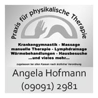 Banner Hofmann Angela