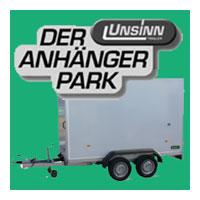 Banner Unsinn Anhängerpark